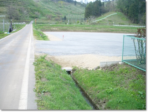 【事業所敷地造成】青森県黒石市、某デイサービス敷地造成工事